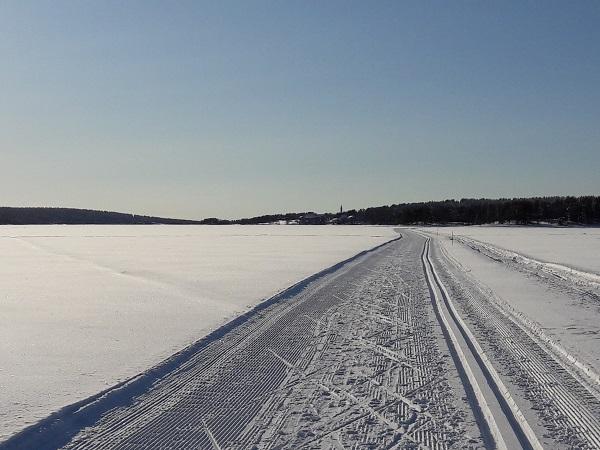 Aurinkokeino_Ounasjärvellä